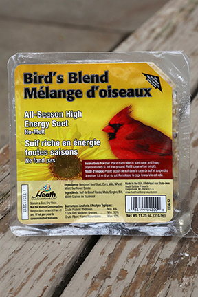 Heath Suet Cake Bird's Blend