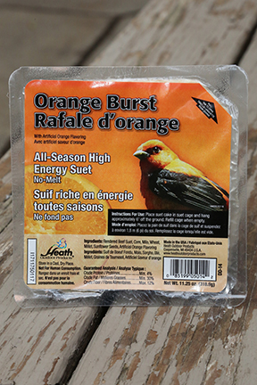 Heath Suet Cake Orange Burst